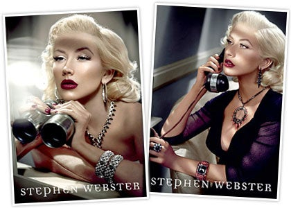 Christina Aguilera: If You Are Going To Shill Overpriced Jewelry, Do It Like This