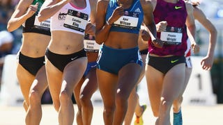 The Women's 800 Meters, Up Close And Personal