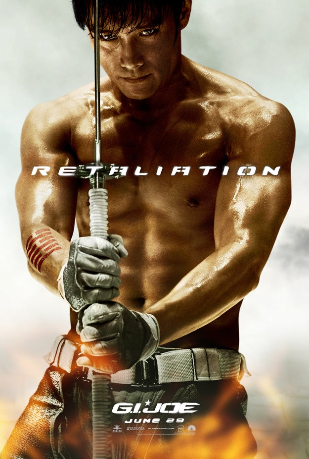 New G.I. Joe Retaliation Posters Gallery