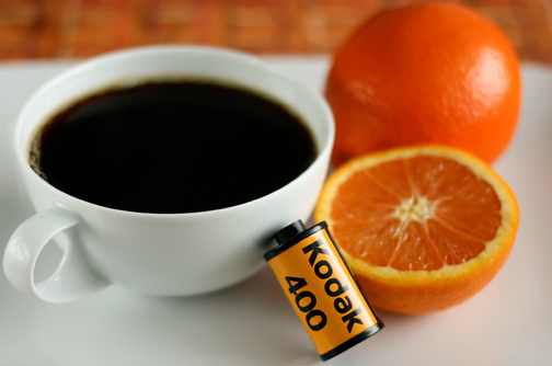 Develop Film with Coffee and Vitamin C