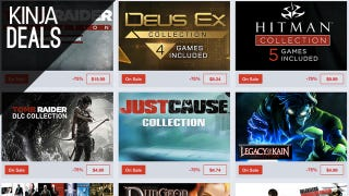 Humble's Having a Big Sale Square Enix Games This Weekend