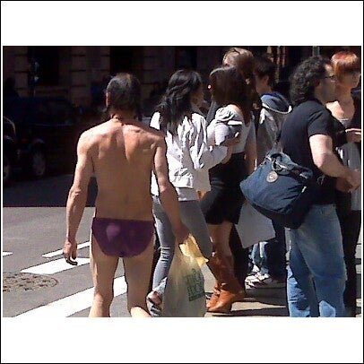 The Weird Naked SoHo Dude