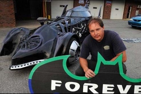 Batmobile Rolls Into West Virginia Shop For Repairs