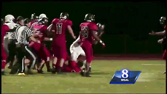 High School Player Rips Off Opponent's Helmet, Beats Him With It