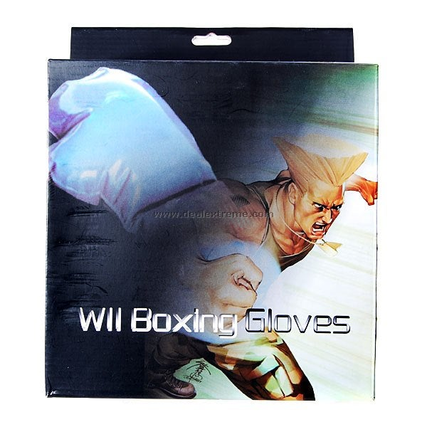 Inflatable Boxing Gloves for Wii Won't Double as Buoyancy Aid