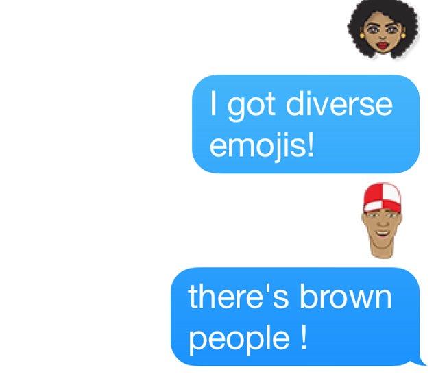 New, Diverse Emojis Are Pretty Cool
