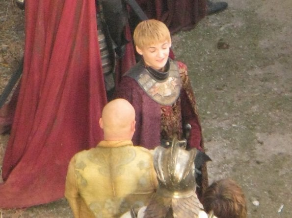 Game of Thrones set photos