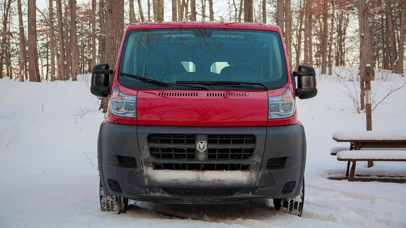 Meet Clifford the Big Red Enabler: learning to love the ugly van