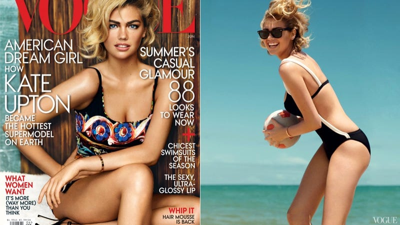 Yes, Indeed, Kate Upton Is on The Cover of Vogue