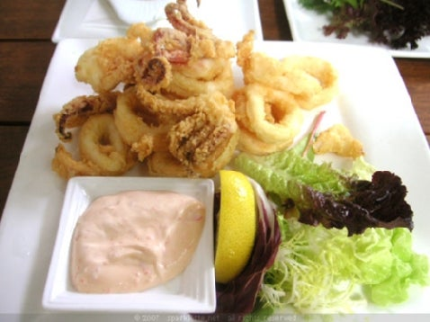 iPhone Popularity Forces Calamari on Menu