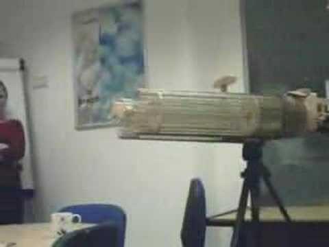 Disintegrator Gun Shoots 40 Rubber Bands Per Second, Provides Vengeance For Nerds
