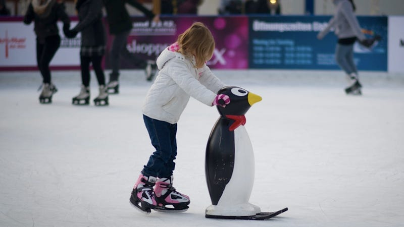 Penguins Make the Best Ice-Skating Instructors
