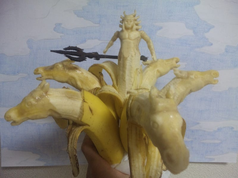 This Guy's Art Is Bananas. Literally.