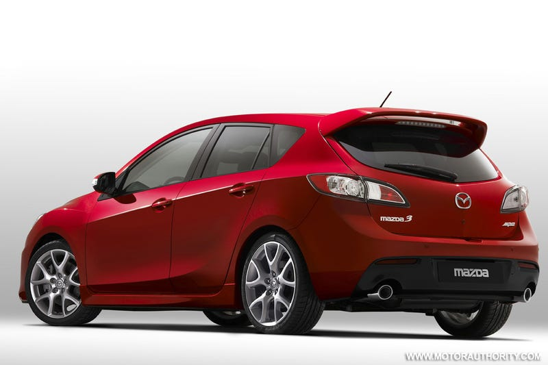 2010 Mazdaspeed3, Mazda3 MPS: More Details, Photos!