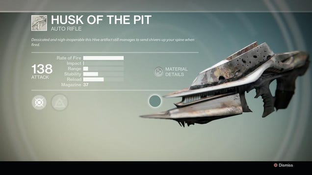 How To Easily Get Destiny's Weird 'Husk of the Pit' Gun
