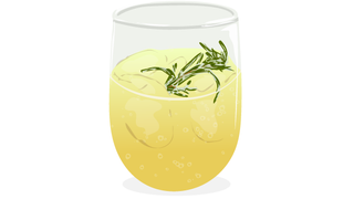 Your End-of-August Cocktail Is A Lemon Rosemary Vodka Fizz