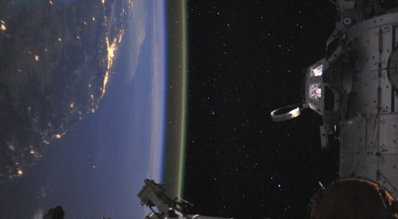 This Awesome Image of the Space Station Could Be a Lost Star Wars Frame