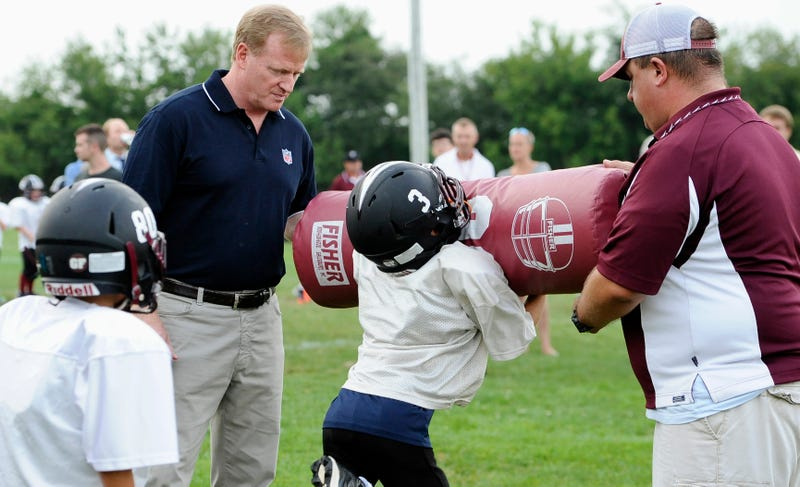 So, How's The NFL Spinning A New Poll On Youth Football And Concussions?
