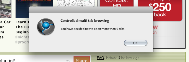 Controlled Multi-Tab Browsing Limits Your Open Tabs to Keep You Productive