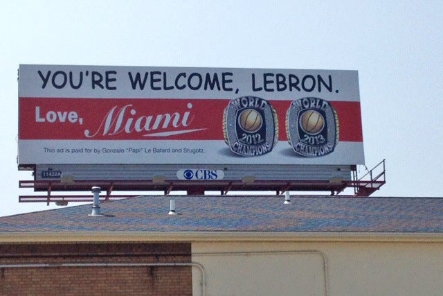 ESPN Suspends Dan Le Batard Two Days For Trolling LeBron With Billboard