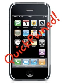 iPhone Firmware 2.2 Jailbroken, QuickPwn 2.2 Released