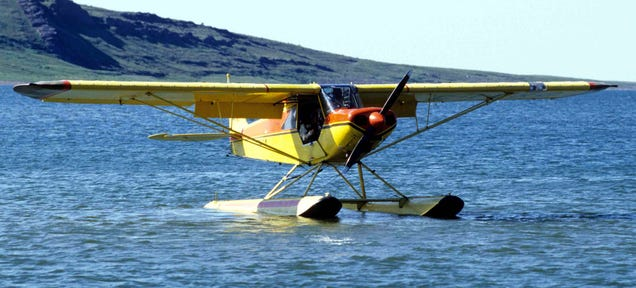 Airplane Landing on Water Water Skiing in an Airplane is
