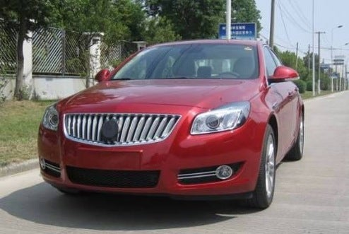 Buick Regal Caught In Brilliant Red, Makes Us Wish We Lived In China