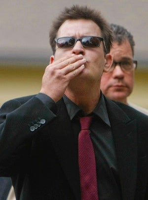 Charlie Sheen Nearly Hooked Up with a Man