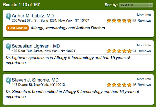 Doctor Finder Locates and Reviews Your New Doctor
