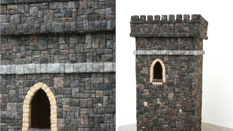 Imagine Life Inside This Castle Made of Human Hair
