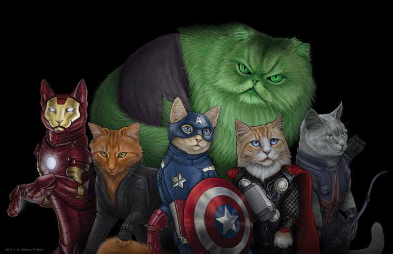 Avengers Cats are the Best Cats