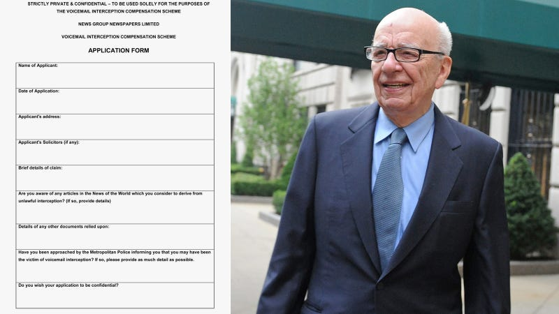 News Corp. Has So Many Hacking Victims, It's Launched a Web Site for Them