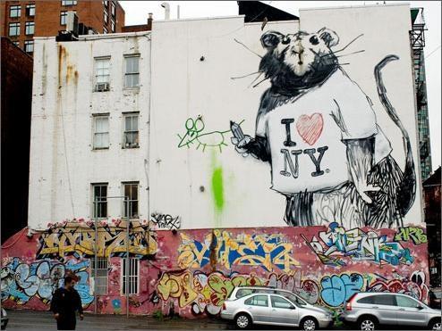 Banksy (Rats) NYC