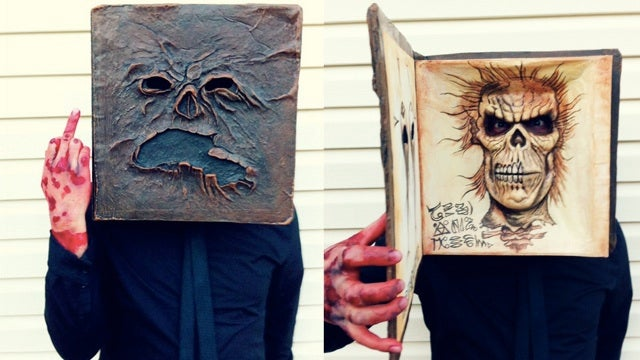 Awesome Evil Dead Halloween costumes of the cabin and Necronomicon