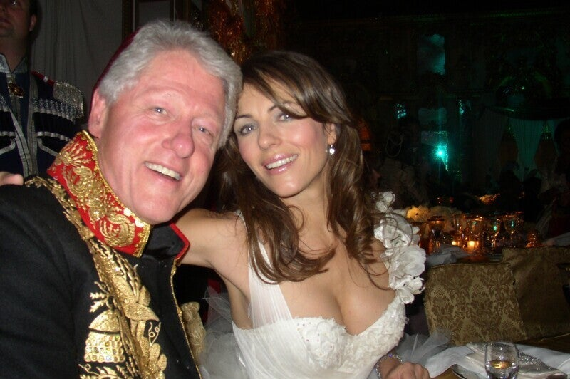 Elizabeth Hurley Denies Cross-Country Sex Trip With Bill Clinton
