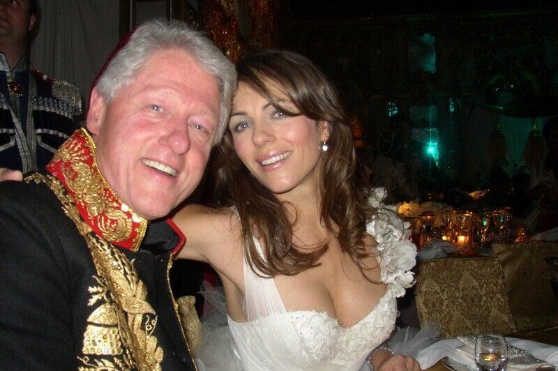 Elizabeth Hurley Denies Cross-Country Sex Trip With Bill Clinton