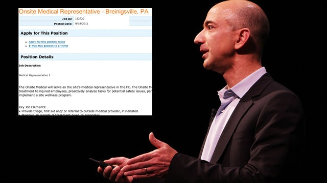 Amazon Recruits Medics for Its Sweatshop