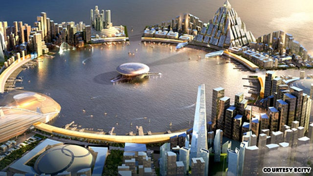 This spectacular proposed South Korean super-city will cost $275 billion