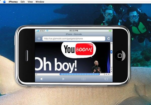 iPhoney Simulates Jesus Phone's Browser but is a False Prophet