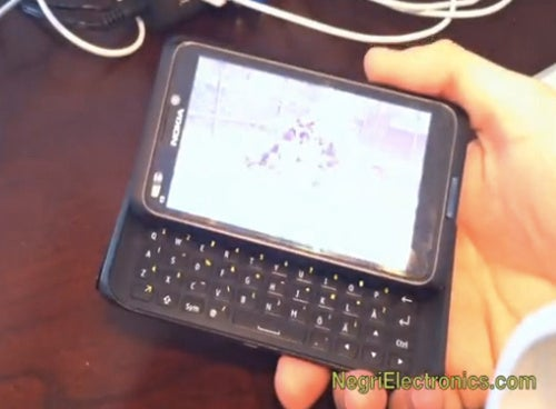 Nokia N9 Video Shows a Slide-Out Keyboard (Yes!) and Symbian OS (Oh dear)