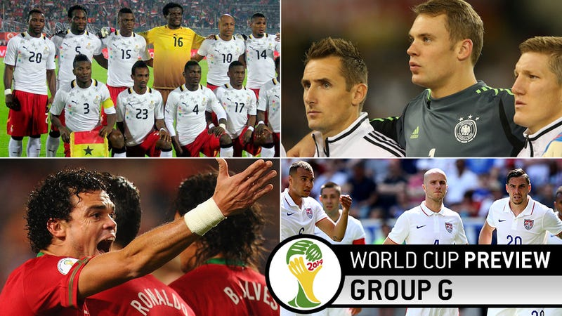 World Cup Group G Preview: Let's Just Kill 'Em And Get Breakfast
