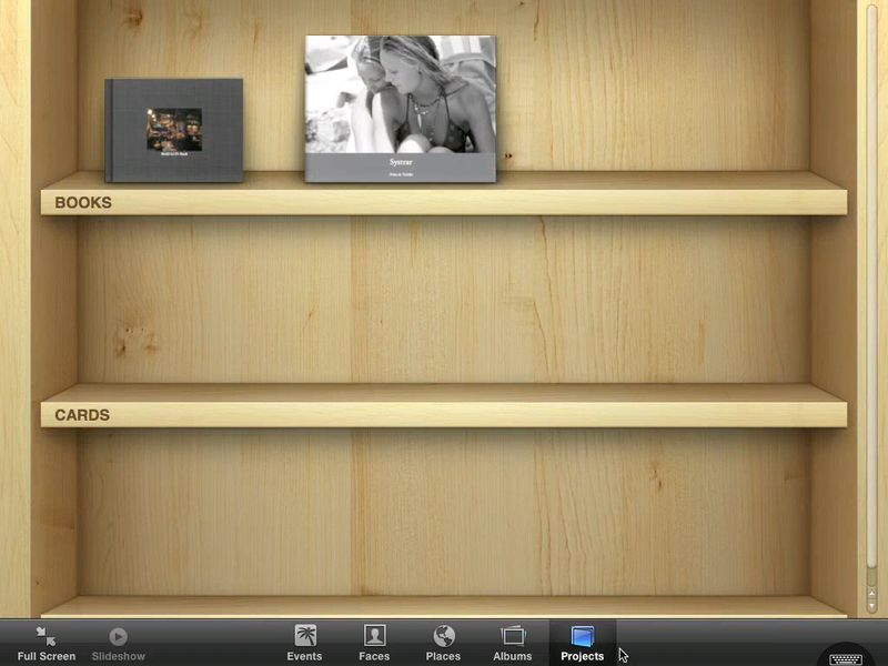 iPhoto Running on iPad Gallery