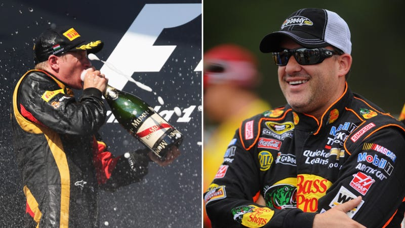 Tony Stewart Is NASCAR's Kimi Raikkonen And Vice Versa