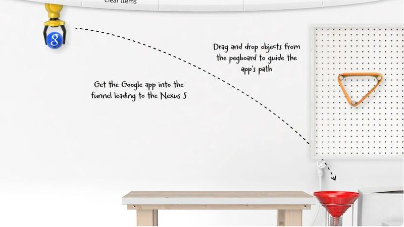 Google's Rube Goldberg Nexus Game Is Totally Addictive