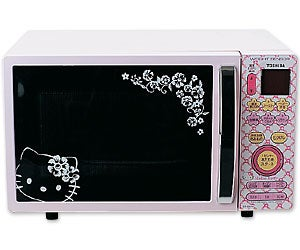 Hello Kitty Microwave is Your Worst Nightmare
