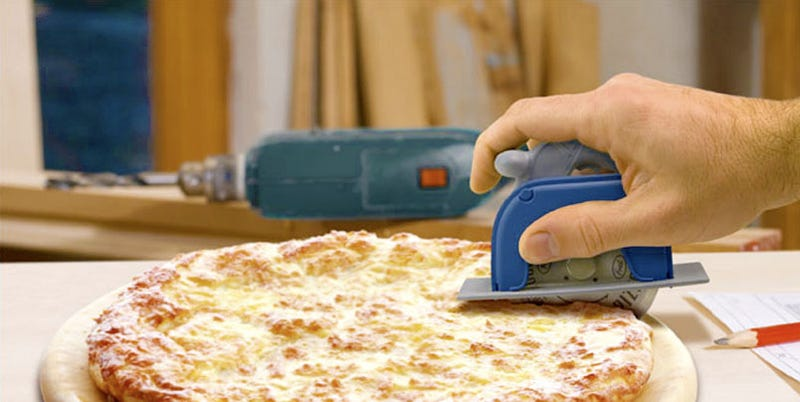 Pizza Pro 3000 Circular Saw Can Slice Both Margheritas and Zombies