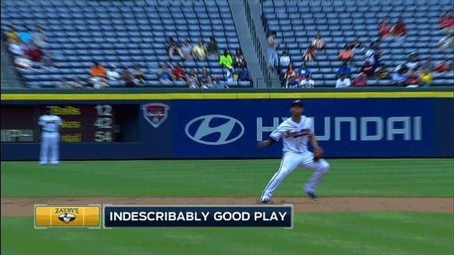 Andrelton Simmons Makes Yet Another Impossible Play