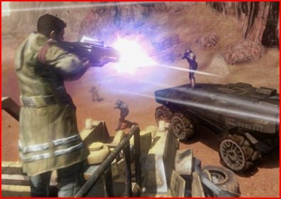 Red Faction: Guerrilla Rhino Packs, Destruction and 360 Avatars