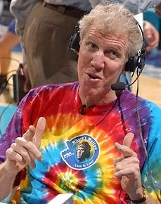 Bill Walton Drinks Alone
