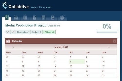 Collabtive Gives You Local Control Over Project Management